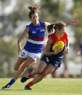 AFL 2016 Womens Exhibition - Western Bulldogs v Melbourne