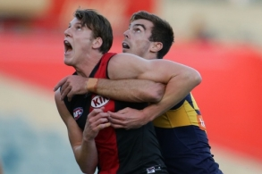 AFL 2016 NAB Challenge - West Coast v Essendon