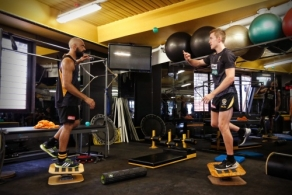 AFL 2016 Training - Richmond Strength Session 150316