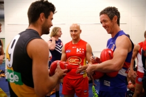 AFL 2016 Media - Captains Day