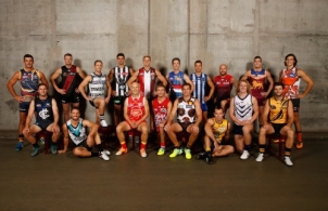 AFL 2016 Portraits - AFL Captains