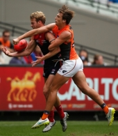 AFL 2016 Rd 01 - Melbourne v GWS Giants