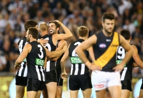 AFL 2016 Rd 02 - Collingwood v Richmond
