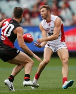 AFL 2016 Rd 02 - Melbourne v Essendon