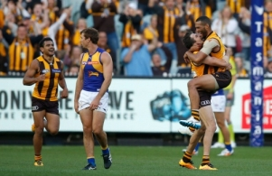 AFL 2016 Rd 02 - Hawthorn v West Coast