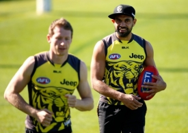 AFL 2016 Training - Richmond 070416