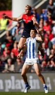AFL 2016 Rd 03 - North Melbourne v Melbourne