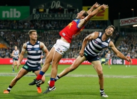 AFL 2016 Rd 03 - Geelong v Brisbane