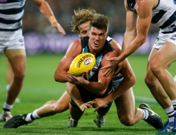 AFL 2016 Rd 05 - Port Adelaide v Geelong