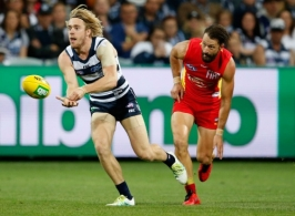 AFL 2016 Rd 06 - Geelong v Gold Coast