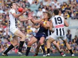 AFL 2016 Rd 06 - West Coast v Collingwood