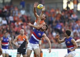 AFL 2016 Rd 09 - GWS Giants v Western Bulldogs