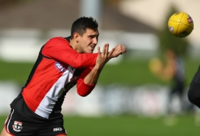 AFL 2016 Training - St Kilda 270516