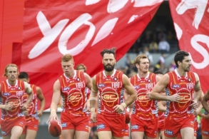 AFL 2016 Rd 10 - West Coast v Gold Coast