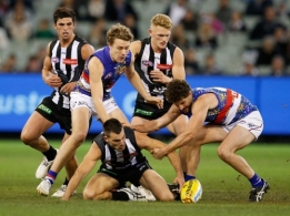 AFL 2016 Rd 10 - Collingwood v Western Bulldogs