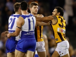 AFL 2016 Rd 13 - North Melbourne v Hawthorn