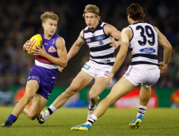 AFL 2016 Rd 13 - Western Bulldogs v Geelong