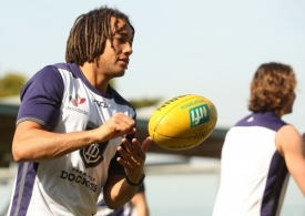 AFL 2016 Training - Fremantle Recovery Session 080716