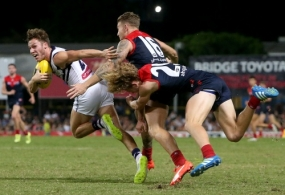 AFL 2016 Rd 16 - Melbourne v Fremantle