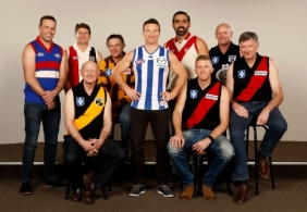 AFL 2016 Portraits - Games Record Holders