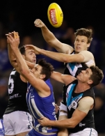 AFL 2016 Rd 17 - North Melbourne v Port Adelaide