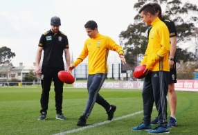 AFL 2016 Media - Richmond and Juventus FC