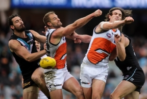 AFL 2016 Rd 18 - Port Adelaide v GWS Giants