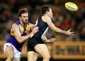 AFL 2016 Rd 19 - Collingwood v West Coast