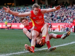 AFL 2016 Rd 19 - Melbourne v Gold Coast