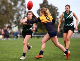 AFL 2016 Media - Senior Girls Herald Sun Shield Division 1 Grand Final