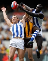 AFL 2016 Rd 21 - Hawthorn v North Melbourne