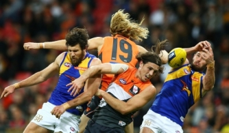 AFL 2016 Rd 21 - GWS Giants v West Coast