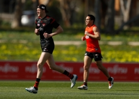 AFL 2016 Training - Essendon 180816