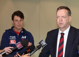 AFL 2016 Media - Melbourne Demons Media Conference 260816