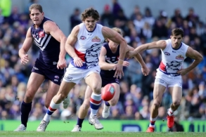 AFL 2016 Rd 23 - Fremantle v Western Bulldogs
