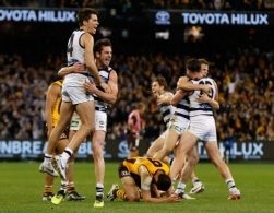 AFL 2016 Second Qualifying Final - Geelong v Hawthorn