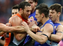 AFL 2016 First Preliminary Final - GWS Giants v Western Bulldogs
