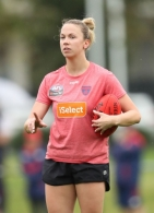 AFL 2016 Training - Melbourne Womens Training 221116