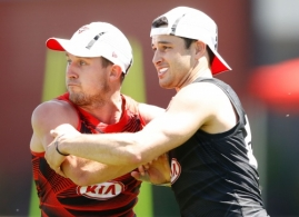 AFL 2016 Training - Essendon 071216