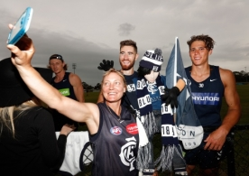 AFL 2016 Training - Carlton 181216