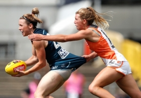 AFLW 2017 Rd 02 - Carlton v GWS Giants