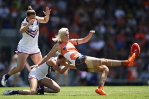 AFLW 2017 Rd 03 - GWS Giants v Fremantle