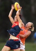 AFLW 2017 Rd 05 - GWS Giants v Melbourne