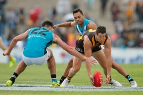 AFL 2017 JLT Community Series - Port Adelaide v Hawthorn