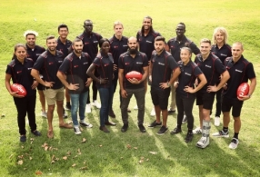 AFL 2017 Media - Multicultural Ambassadors Launch