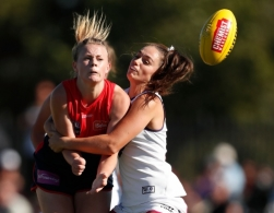 AFLW 2017 Rd 07 - Melbourne v Fremantle