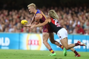 AFL 2017 Round 02 - Brisbane v Essendon