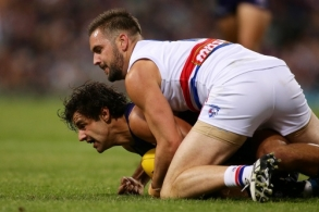 AFL 2017 Round 03 - Fremantle v Western Bulldogs