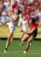 AFL 2017 Round 04 - Melbourne v Fremantle