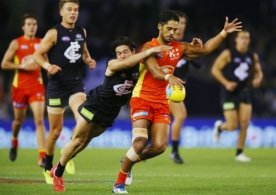 AFL 2017 Round 04 - Carlton v Gold Coast